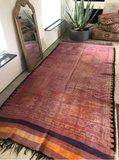 Flatweave boujaad berber Moroccan rug_