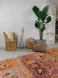 Vintage Marokkaanse Boujaad loper berber 400x117cm_