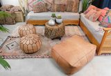 Marokkaans vintage boujaad kilim kussen 50x35cm_