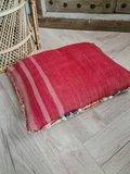Vintage Marokkaans Berber boujaad kussen 38x53cm_