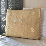Sabra silk - cactus zijde kussen 46x46cm_