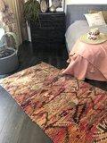 Marokkaans vintage Boujaad kleed 105x205cm_