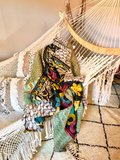 Kantha quilt uit india - 2 zijdig_