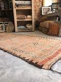 Vintage Marokkaans boujaad kleed 135x315cm_