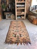 Vintage Marokkaans boujaad kleed 104x260cm_