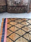 Vintage Marokkaans Beni Ouarain kleed 160x288cm_