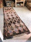 Vintage Marokkaans boujaad kleed 103x365cm_