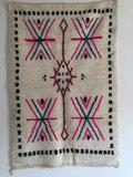 Azilal kleed met etnische print 100x150cm_