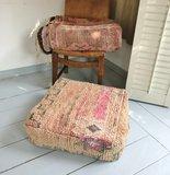 Marokkaanse kilim boujaad poef_