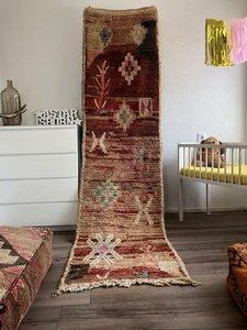 Marokkaanse loper Berber 80x282cm