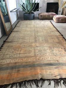 Flatweave boujaad berber Moroccan rug