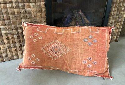 XL Sabra cactus zijde kussen 50x90cm