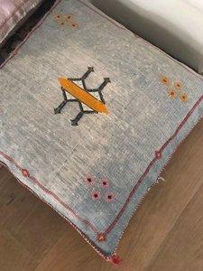 Sabra kussen - cactus zijde Berber kussen 60x60cm