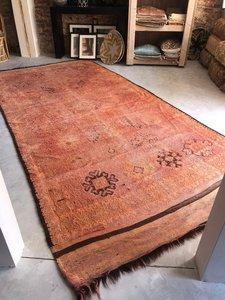 Vintage Marokkaans boujaad kleed 181x365cm