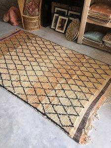 Vintage Marokkaans Beni Ouarain kleed 160x288cm