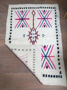 Azilal kleed met etnische print 100x150cm
