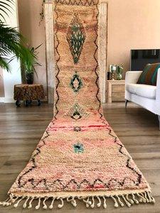 Marokkaanse loper Berber 73x378cm