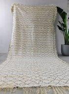 MAY Vintage Marokkaans bruidskleed Handira 170x330cm