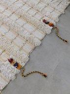 NOMAD Vintage Marokkaans bruidskleed Handira 122x210cm